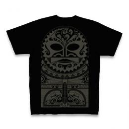Tiki Mask Tribal / Short Sleeve Tシャツ (Black)