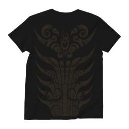 Envelope Yap Tribal/Short Sleeve UネックTシャツ (Black)