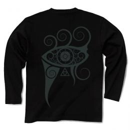 In My Projector / Long Sleeve Tシャツ (Black-IvoryBlack)