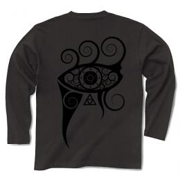 In My Projector / Long Sleeve Tシャツ (Charcoal-Black)